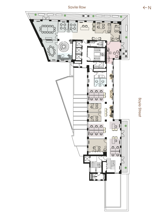 Floor plan - Fifth Floor Financial