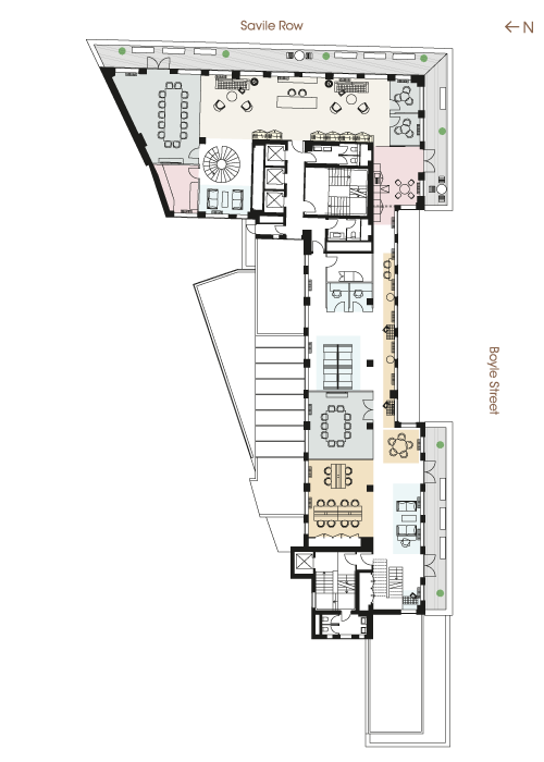 Floor plan - Fifth Floor Majority Occupier