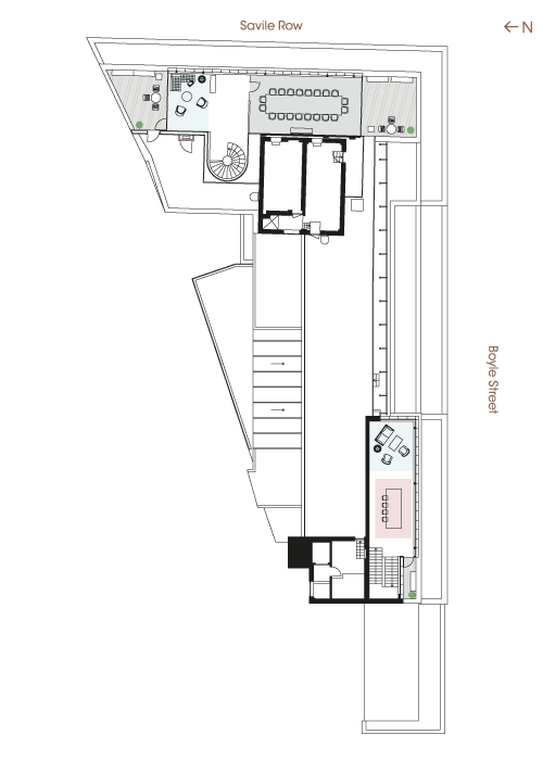 Floor plan - Sixth Floor Majority Occupier