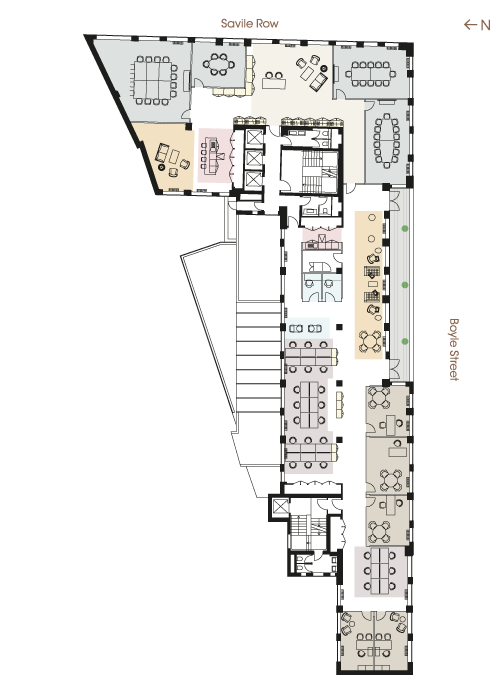 Floor plan - Third Floor Financial